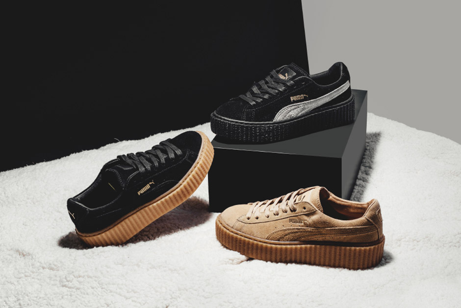 69ee36992deb Every Colorway Of Rihanna s Puma Creeper - SneakerNews.com