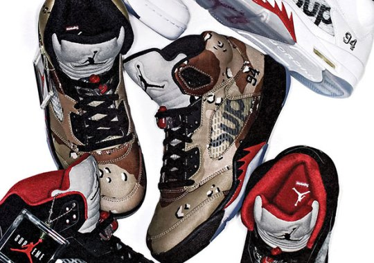 Latest Release Updates On The Supreme x Air Jordan 5