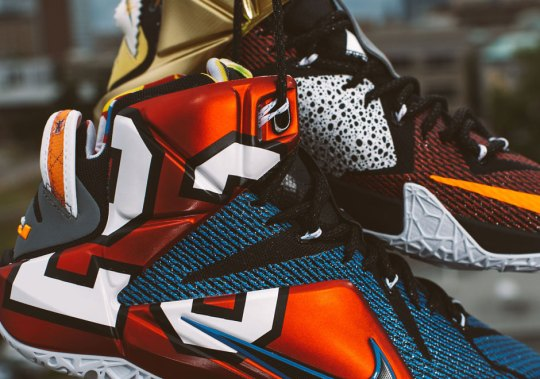 "The ""What The"" Series Continues With the LeBron 12 SE"