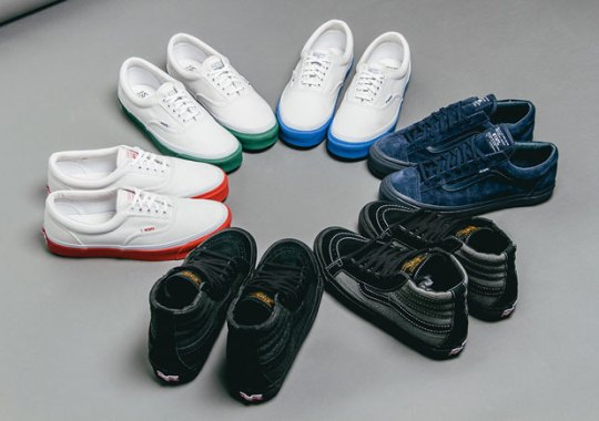 7994fbbe08 Cop The Incredible WTAPS x Vans Fall Collection Tomorrow