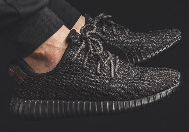 Yeezy 350 Boost V2 Black/Red By9612