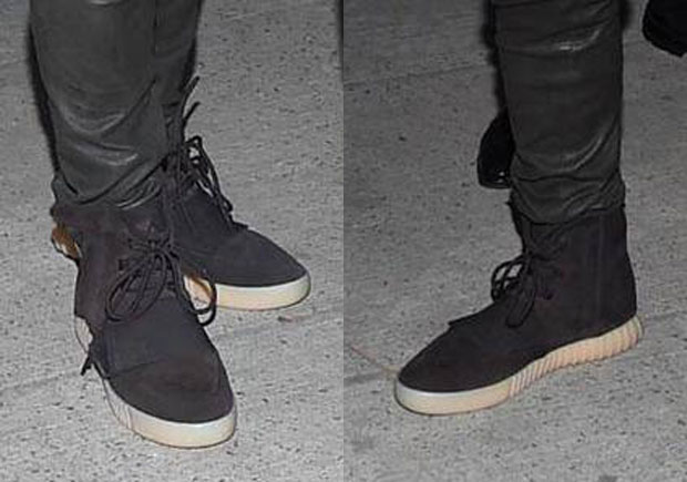 During tonight's Givenchy show for NYFW, Kanye West was spotted wearing a  never-before-seen colorway of the Yeezy Boost 750, the high-top model that  kicked ...