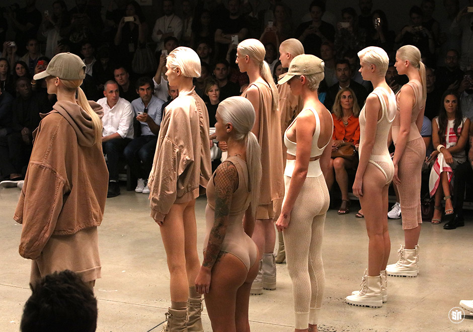 An Exclusive Behind The Scenes Look At The Yeezy Season 2 Show