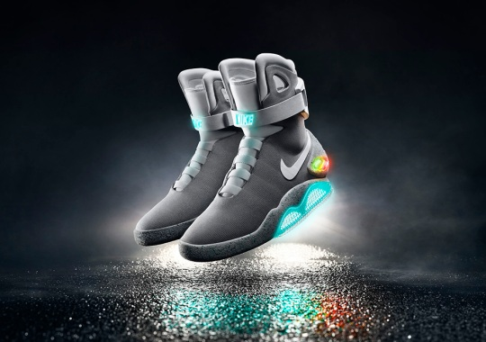 Nike Reveals Release Details For The Self-Lacing Mag Sneaker From Back To The Future II