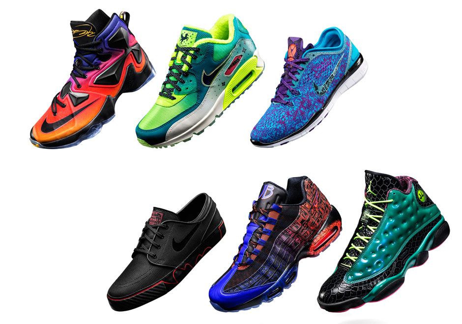 Air Jordan 13, Air Max 95, And More In 2015's Nike Doernbecher Collection