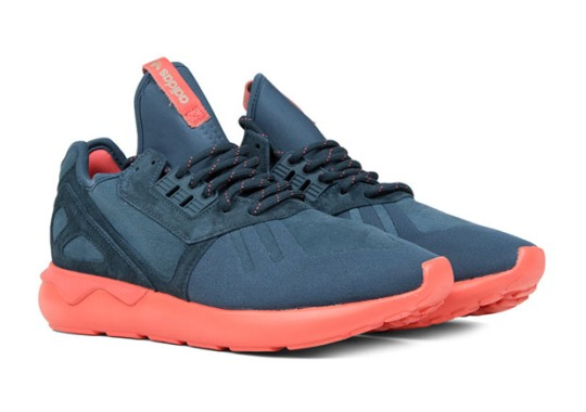 The adidas Tubular Runner With A Salmon Sole