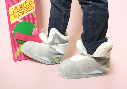 Get Cozy With Nike Mag Replica House Slippers