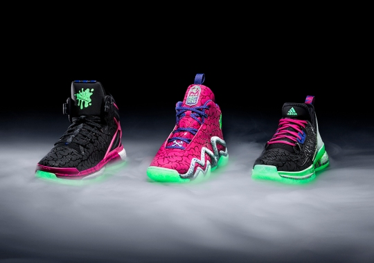 "adidas Basketball Brings Out the ""Ballin' Dead"" Pack for Halloween"