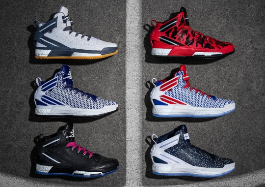 The adidas D Rose 6 is Now Available For Customization on miadidas