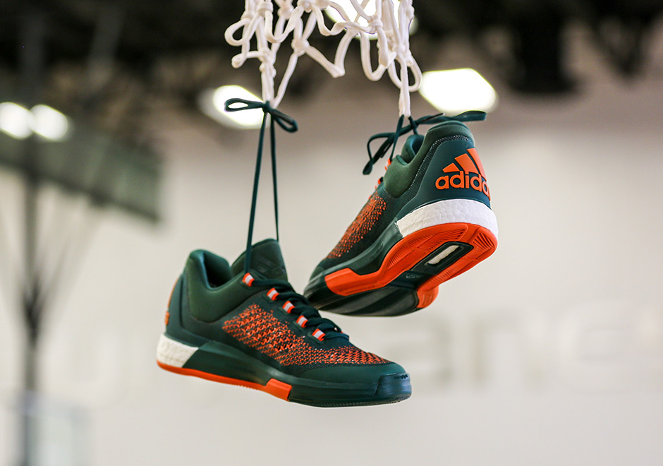 The University Of Miami Has A Sick Adidas Crazylight Boost