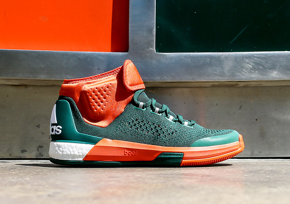 size 40 eeee3 2da9b The University Of Miami Has A Sick adidas Crazylight Boost PE For The  Upcoming Season - SneakerNews.com