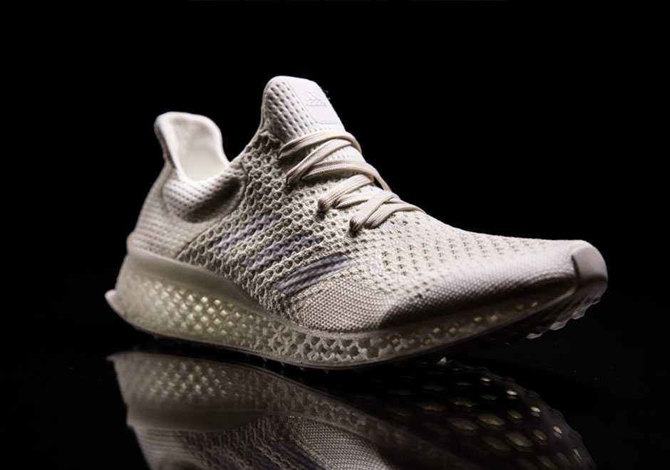 adidas Presents the Future of Running Shoes: 3D Printed