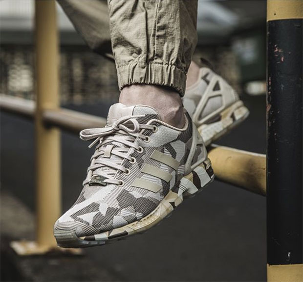 meilleures baskets d568f f6911 The adidas ZX Flux Gets Its Most Intense Camo Makeover Yet ...