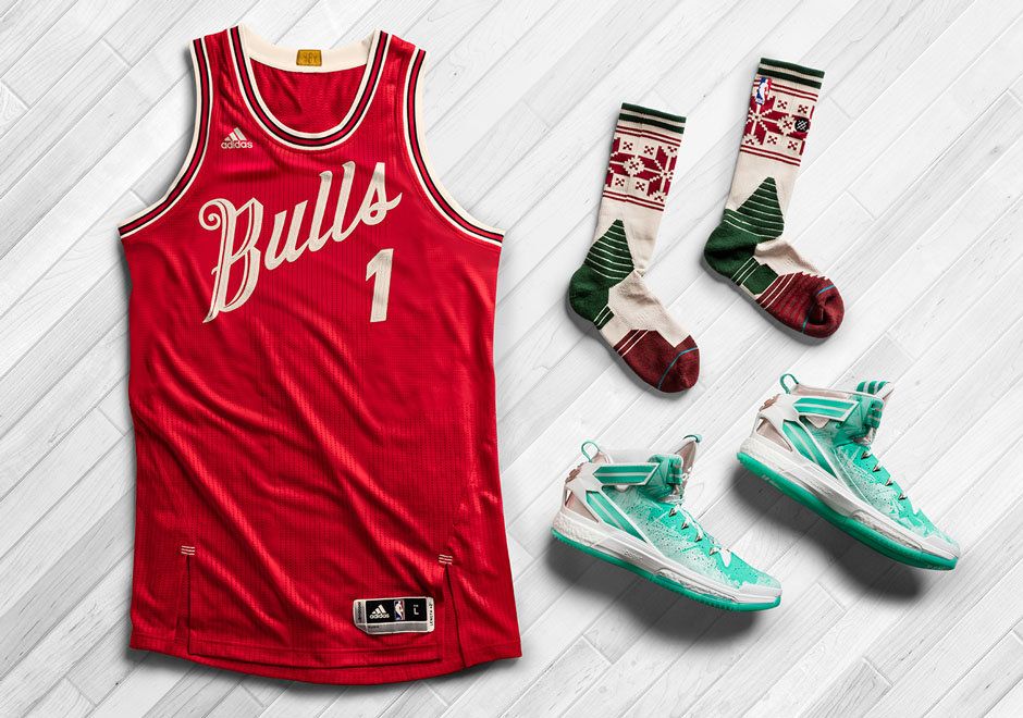 adidas nba and stance unveil christmas day uniforms and d rose 6 sneakernewscom