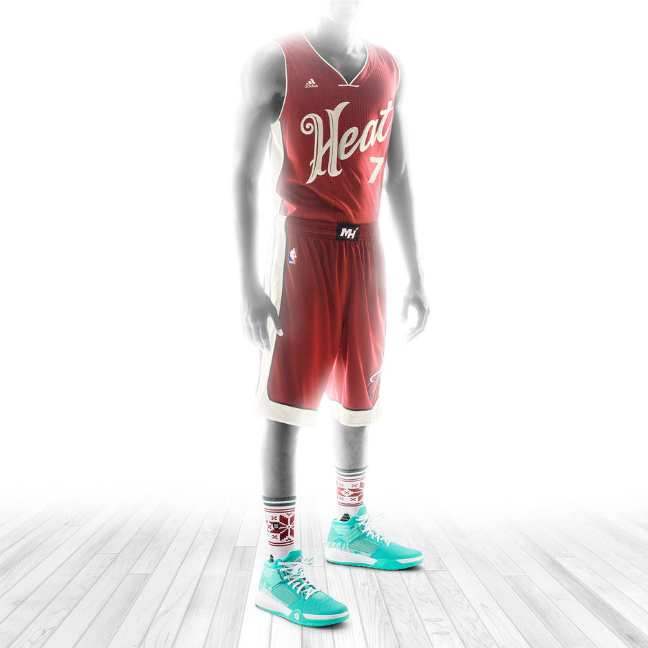 quality design 4722e fb7ad adidas, NBA, And Stance Unveil Christmas Day Uniforms and D ...