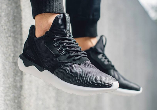 "The adidas Tubular With A Unique Take On ""Snakeskin"""