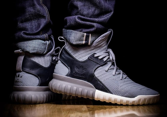 Two-Toned Colorways Of The adidas Tubular X Primeknit