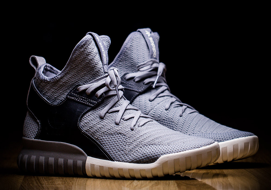 Adidas Tubular X Primeknit Gris Negro Y Zapatos Blancos Iw3vQJM