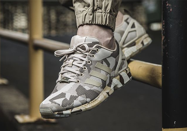official photos 60903 33833 free shipping The adidas ZX Flux Gets Its Most Intense Camo Makeover Yet