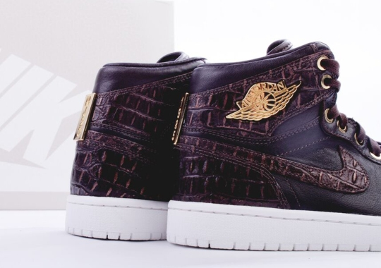 "Air Jordan 1 Pinnacle ""Brown Croc"" – Europe Release Date"