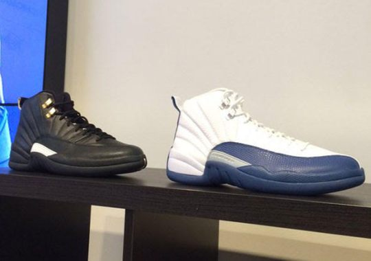 "First Look At The Air Jordan 12 ""French Blue"""
