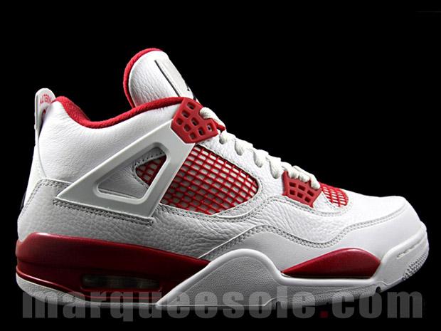 "online retailer f2f56 b374e Air Jordan 4 Retro ""Alternate  89"". Color  White Black-Gym Red Style Code   308497-106. Release Date  1 2 16"