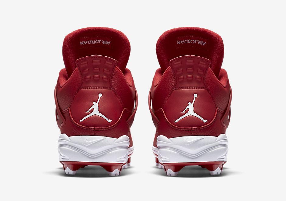 3c0b0c053fa Jordan IX Retro MCS Mens Baseball Cleat Air Jordan 4 MCS Cleats Nike Air ...