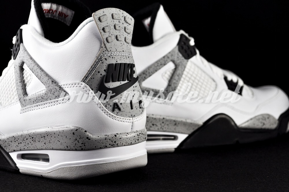 Nike Air Jordan 4 White Cement