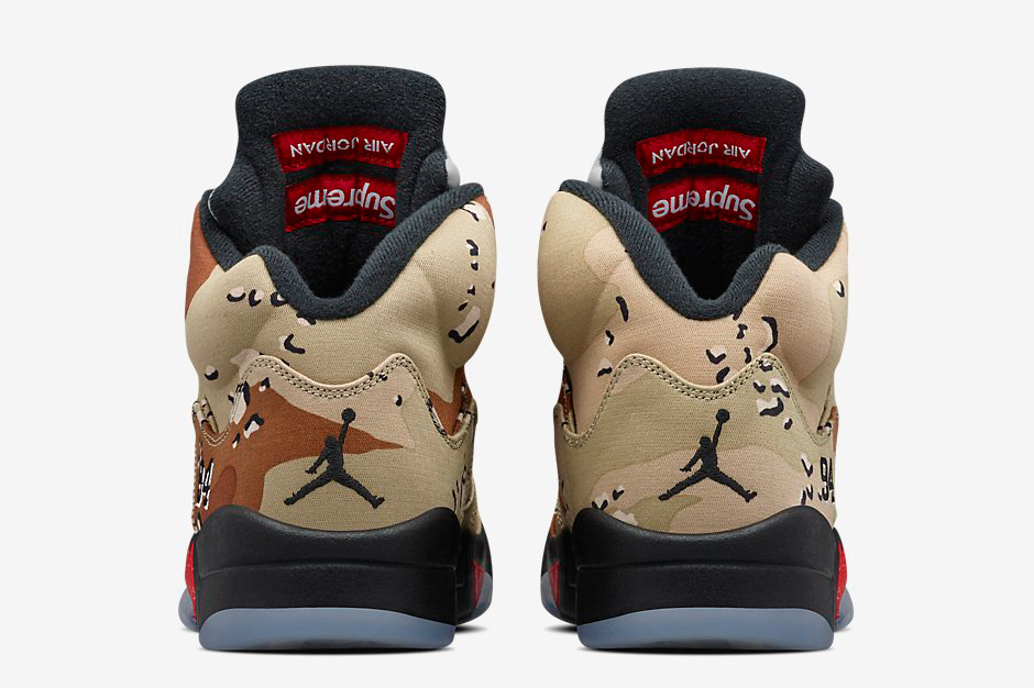 Supreme X Air Jordan 5 Retro 'desert Camo' LGa6vPJSLN