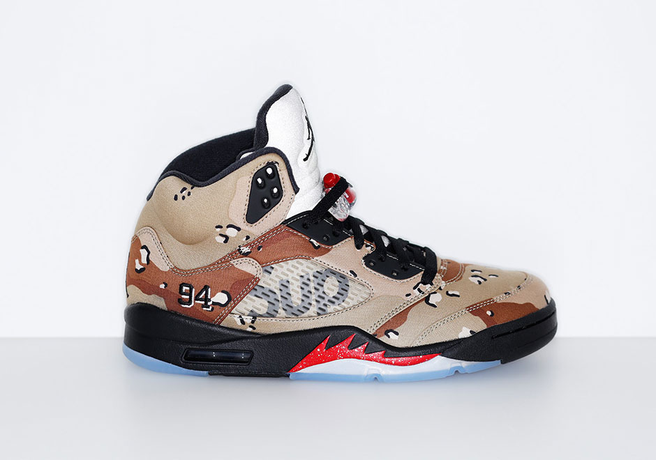 Supreme Jordan 5 Release Date October 16th  ceaa0fbea