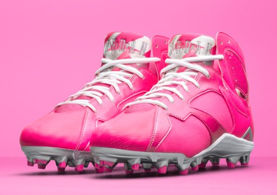 "Look Out For These Air Jordan 7 ""Breast Cancer Awareness"" PEs This Sunday"