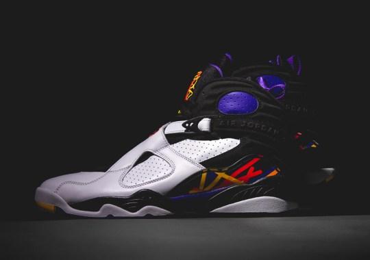 Re-live Michael Jordan's First Three-Peat With The Air Jordan 8 Retro