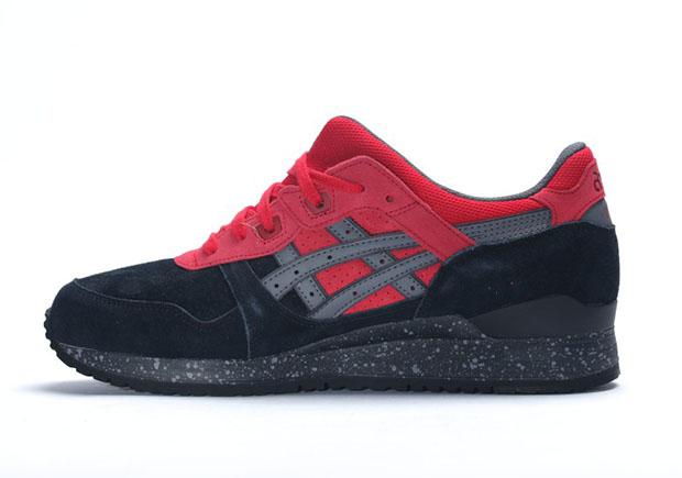 Asics Gel De Lyte Iii Zapatos - Negro / Rojo Bad Santa BdCiydLi