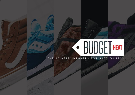 Budget Heat: October's 10 Best Sneakers for $100 Or Less