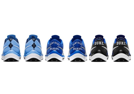 Nike Honors Three Huge College Basketball Teams With Upcoming Trainer Release