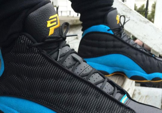 "An On-Foot Look At The Air Jordan 13 ""CP3"" PE"