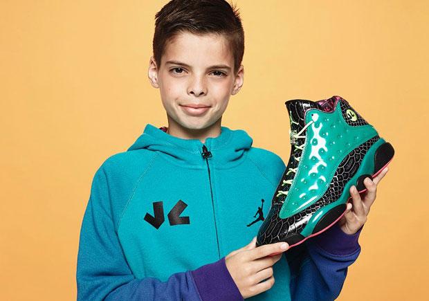 Air Jordan 13 Doernbecher - Release