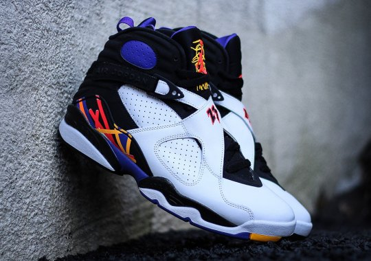 official photos 5f371 aeaac Celebrate Michael s Three-Peat With This Month s Air Jordan 8 Retro Release