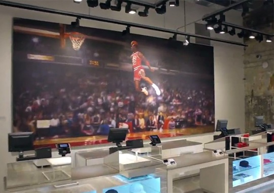 The New Jordan Store On 32 South State Is Jaw-Dropping