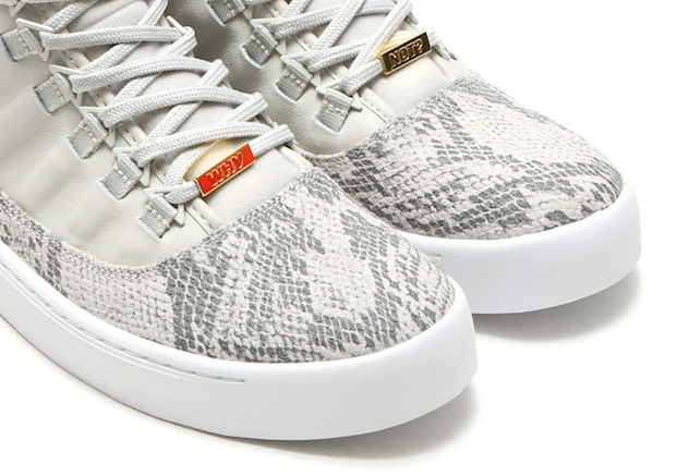 bd1f4bf2dc74e7 The Most Luxurious Jordan Westbrook 0 Yet in White Snakeskin