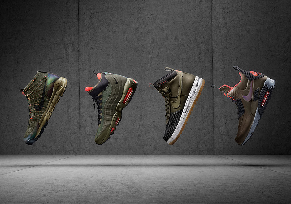 low priced 6d41f 5559d Nike Sneakerboots For Holiday 2015