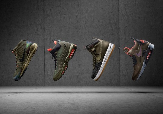 Nike Sneakerboots For Holiday 2015