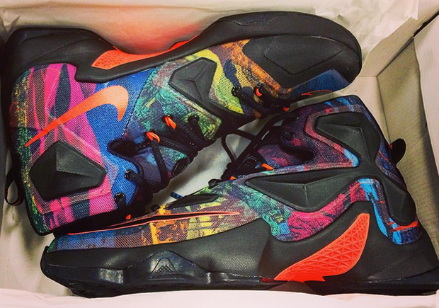 Get Ready For A quot Multi Colorquot Nike LeBron 13