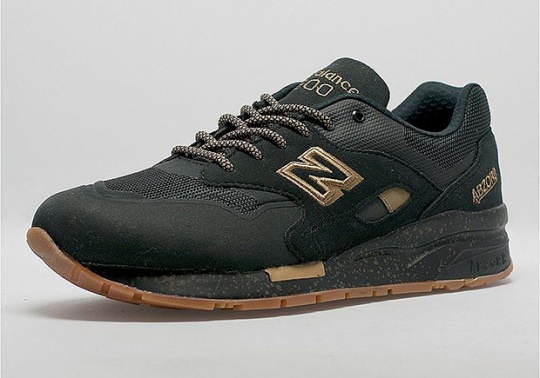 The New Balance 1600 Gets The Winning Combo of Black, Gold, and Gum