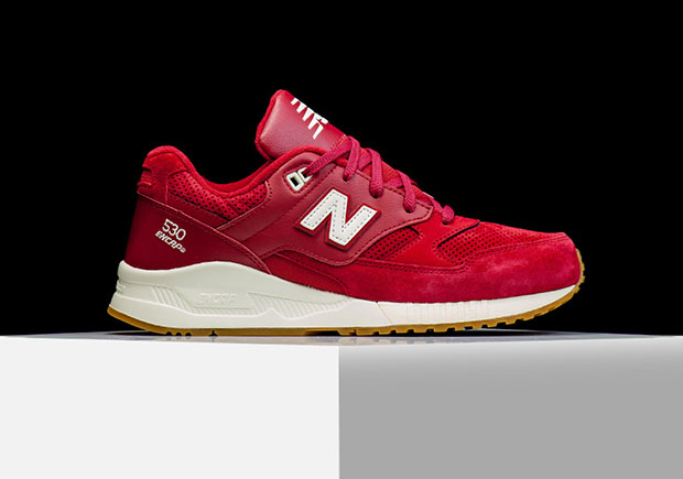 new balance 530 homme rouge