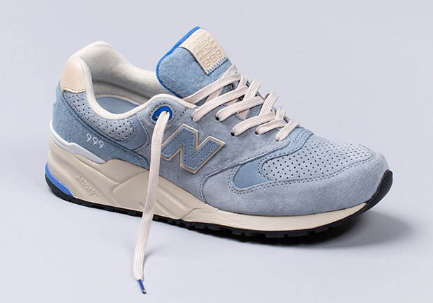 buy online 00b34 a7538 The New Balance 999 Impresses In Baby Blue and Cream ...
