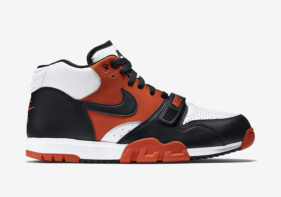 52e4a6e22993 ... Nike Air Trainer 1. Color Team OrangeWhiteBlack Style Code 317554-800.