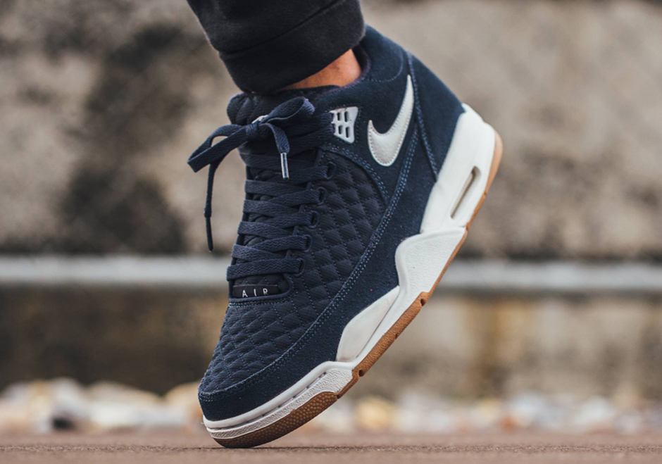 san francisco 4bf90 d622e best The Nike Air Flight Squad Takes On A Quilted Upper
