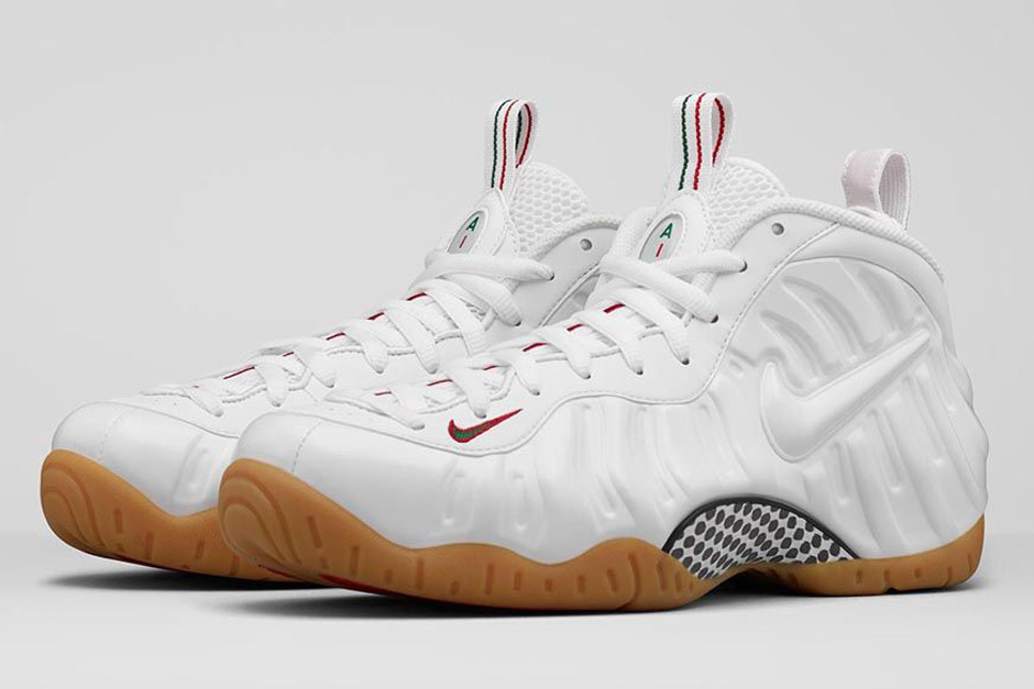 2c1c1b16ef6 A Classic Combination of White Gum Lands on the Nike Foamposite Pro This  Friday - SneakerNews.com
