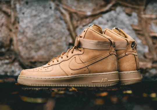 """9bc1f8a381e The Nike Air Force 1 High """"Flax"""" Releases In November"""